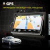 Car PC + DVD Player + Surf Wifi/3G Internet + 7 Inch Motorized Touchscreen + GPS + Support iPod + ATSC