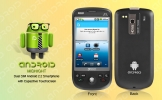 Midnight - Quadband Android Dual SIM Smartphone w/ 3.5 Inch Capacitive Touchscreen + WiFi and GPS