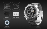 Secret Agent Wristwatch with Camera + Motion Detector