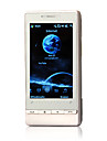 T5353+ Windows Mobile 6.1 GPS WIFI JAVA Quad Band Bluetooth Flat Touch Screen Smart Cell Phone Black and Silver (2GB TF Card)
