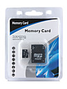 4GB Micro SDHC Memory Card with SD Adapter (CMC003)
