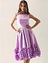 оптом Вечернее платье фиолетового безрукавов.