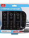 4 Port Charge Station for Nintendo Wii Black