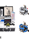 Professional Tattoo Kits for Lining and Shading with LCD Power Supply