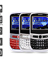 Triple SIM 2.0 Inch Qwerty Keyboard Cell Phone (Dual Camera, TV, MP3)