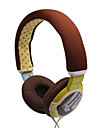 3.5mm Stereo Multi-pattern Style Over-ear Headphone