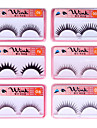 Fashion Lashes - 30 Pairs Long, Dramatic Blunt Cut False Eyelashes FX