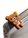 Dustproof 3.5mm Earphone Plug for Cellphone (Bear)