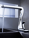 Sprinkle by Lightinthebox - Contemporary Solid Brass Kitchen Faucet Chrome Finish