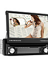 7 inch digitale touch screen 1 din auto dvd speler ondersteuning tv, rds, 3d menu