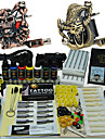 Complete Tattoo Machine Kit 2 Guns with high quality ink