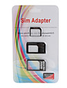 Micro Sim and Nano Sim Adapter for iPhone 4/4S & iPhone 5