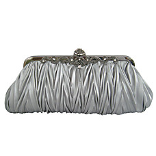 wholesale Gorgeous Silk Evening Bag Handbag Purse Clutch (7385). More Colors Available