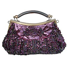 wholesale Gorgeous Silk Evening Bag Handbag Purse Clutch (0438-0913). More Colors Available