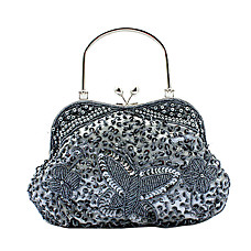 wholesale Gorgeous Satin Evening Bag Handbag Purse Clutch (0438-6914). More Colors Available
