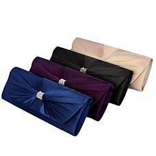 wholesale Gorgeous Silk Evening Bag Handbag Purse Clutch (0438-6897). More Colors Available