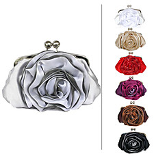wholesale Gorgeous Satin Evening Bag Handbag Purse Clutch (9911). More Colors Available
