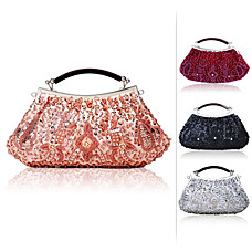 wholesale Gorgeous Satin Shell Evening Bag Handbag Purse Clutch(0986-7920)