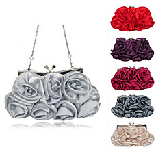 wholesale Gorgeous Silk Evening Bag Handbag Purse Clutch. More Colors Available (1227)