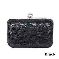 wholesale Sequin/Metal Shell Evening Bag Handbag Purse Clutch(0438-6981F21)