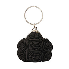 wholesale Gorgeous Satin Shell Evening Bag Handbag Purse Clutch(0986-1940)