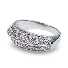 wholesale Amazing CZ/Alloy Fashion Ring (0986-j19)