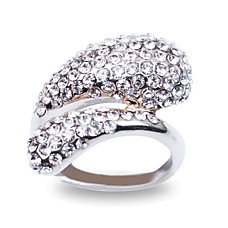 wholesale Amazing CZ/Alloy Fashion Ring (0986-j17)