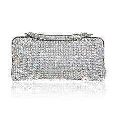 wholesale Hot! Hot! Christmas Gift - More Than One Thousand Austrian Rhinestones Evening Bag Handbag Purse Clutch(0438-I51)