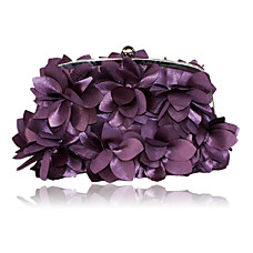wholesale Gorgeous Satin Evening Bag Handbag Purse Clutch(0438-K17)