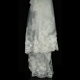 1 Layer Chapel Wedding Veils D3M-J (TYPJ036)