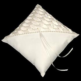 Elegance Satin Wedding Ring Bearer Pillow