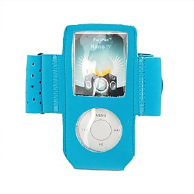 Leather Case and Armband For Ipod Nano Gen 4