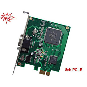 PC DVR card-8 Channel Real time DVR Card H.264 optimized