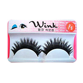 Long, Dramatic Blunt Cut Eyelashes FS - 1 Pair Of Lashes ,Great For A Party Or Performance