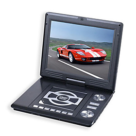 12.3-inch Portable DVD Player with TV Function Card Reader Games Digital Photo Frame LCD Monitor(SMQ2451)