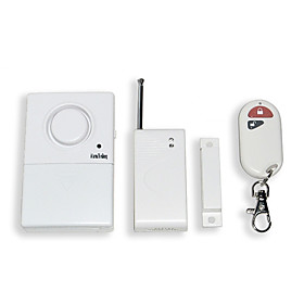 The gate magnetism wireless alarm with remote control