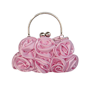 Gorgeous Silk Evening Handbags/ Clutches/ Top Handle Bags/ Wristlets More Colors Available