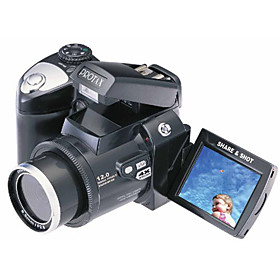 Vivikai - 12 MP Digital Camera with 2.4 Inch TFT LCD Display and 4×Digital Zoom