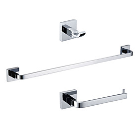 Bath Accessory Set - Robe Hook and Towel Ring and Towel Bar (0640-3201-3208A-3212)