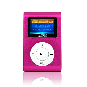 4GB Fashion Deisgn OLED MP3 Player   FM Function(5 Colors Available)