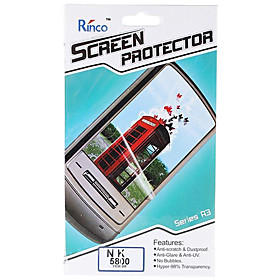 Rinco LCD Screen Protector for Nokia 5800 Cell Phones 2#