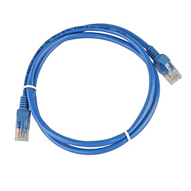 1 Meter RJ45 Category 5 Network LAN Cable (Blue)