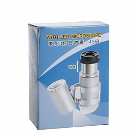 45X Microscope/Endoscope with 2-LED Illumination (3 LR927)