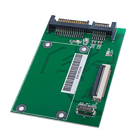 "1.8"" ZIF CE HDD to SATA Hard Drive Adapter Card"