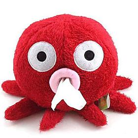 Lovely Red Octopus Design Tissue Paper Box Holder