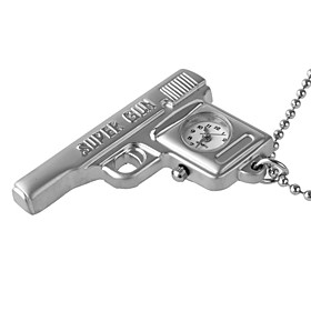 Charming Necklace Watch (Pistol)