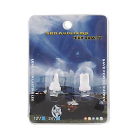 High Powered LED Vehicle Signal Lights 2-Pack (12V T8 White)