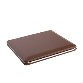 Thin Brown Leather Cigarette Case (Holds 10)