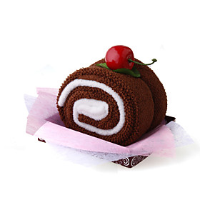 Chocolate Cake Style Towel