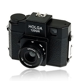 Lomo Holga 120 GN Medium Format Fixed Focus Film Camera  Black (DCE045)
